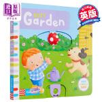 【中商原版】Busy系列 繁忙的花园 英文原版 Busy Garden 纸板书 机关 操作书 幼儿启蒙 纸板操作书