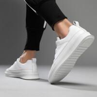 小白鞋男春季潮鞋2019新款韩版的鞋子百搭学生鞋子男板鞋男士厚底休闲鞋
