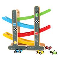 儿童玩具车滑翔轨道小汽车回力惯性女孩宝宝1-2-3岁4-5-6男孩益智