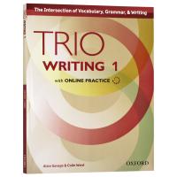 牛津Trio系列学术英语写作教材1 Trio Writing Level 1 Student Book with Onl