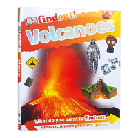 DK小发现 火山 DK findout Volcanoes 英文原版 英文版儿童科普百科 英语读物 进口原版书籍