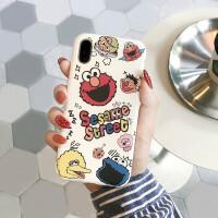 韩国火卡通iPhone8plus手机壳7/6s保护套可爱女苹果XSMAX软壳XR
