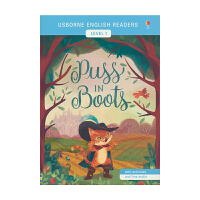 Usborne English Readers Level 1 Puss In Boots 英语小读者系列 穿靴子的猫