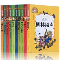 国际大奖儿童文学小说全10册注音版 世界经典名著稻草人宝葫芦的秘密小巴掌童话 柳林风声兔子坡大林和小林6-7-10岁小