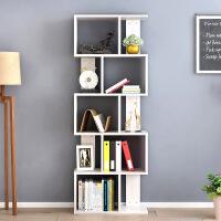 御目 书架 简约现代家用多层置物架简易落地陈列架柜子创意个性自由组合收纳储物架书房客厅整理架子家具用品
