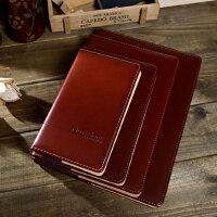 同舟简约记事本商务办公文具用品笔记本工作记录簿软抄本子