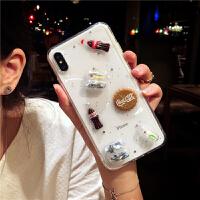 米妮可乐 XS Max苹果x手机壳 XR iPhone7/8plus可爱6s卡通6防摔女 iPhoneX/XS通用-胶