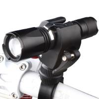 自行车灯 前灯 调焦骑行装备 强光手电筒山地车尾灯单车配件