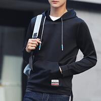 秋季新款男士连帽卫衣休闲韩版运动服套头长袖卫衣男外套衫311