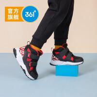 【618折后价:97.65】361度童鞋男童棉鞋小童2020年冬季保暖高帮童鞋加厚男孩冬鞋