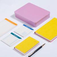 卡杰商务记事本日韩日记本朋友礼物创意文具笔记本礼品盒装定制