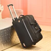 旅行包女手提拉杆包大容量带轮子行李包旅行袋待产包可折叠潮