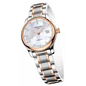 浪琴Longines-名匠系列 L2.128.5.89.7 机械女士手表