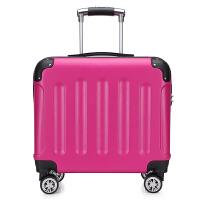 迷你登机箱万向轮批量定制logo16寸拉杆箱商务旅行箱子18寸行李箱