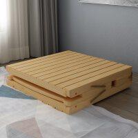 加固折�B床�稳穗p人加厚木板�F�W式午休1米12米15米
