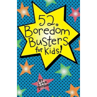 52 Series: Boredom Busters for Kids 52种活动:孩子的快乐游戏[卡片] IBSN9