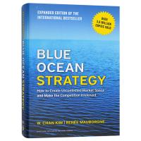 Blue Ocean Strategy 蓝海战略 英文原版 企业竞争战略 营销战略 市场竞争书籍 精装 英文版进口英语书