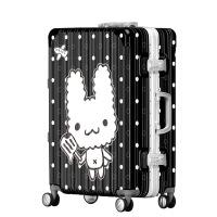 2018新款卡通兔子男女通用拉杆箱行李箱万向轮时尚潮流