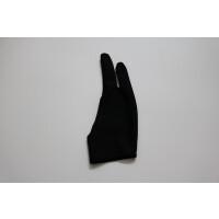 绘画绘图数位板防污手套 写字手套两指手套 油画防触屏手套 黑色