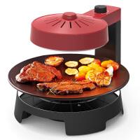 【当当自营】 利仁(Liven)KZ-J1002 空气能烤炉 韩式家用3D红外线电烧烤炉 无烟不沾电烤炉烤肉机 家用铁板烧