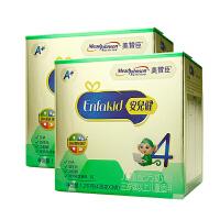 【18年4月生产】美赞臣4段1200g牛奶粉四段安儿健3-6岁儿童牛奶粉两盒装