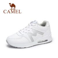 Camel/骆驼女鞋 秋季新款气垫运动鞋女防滑透气跑步鞋百搭小白鞋女