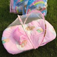 甜梦莱婴儿蚊帐罩落地宝宝蚊帐有底免安装蚊帐可折叠蒙古包宝宝午睡床罩