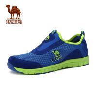 小骆驼童鞋春夏透气中童网面运动鞋男童防滑网鞋