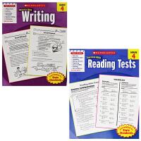 学乐英语写作练习册+阅读测试 Success with Writing 4小学四年级 英文版 华研原版教材