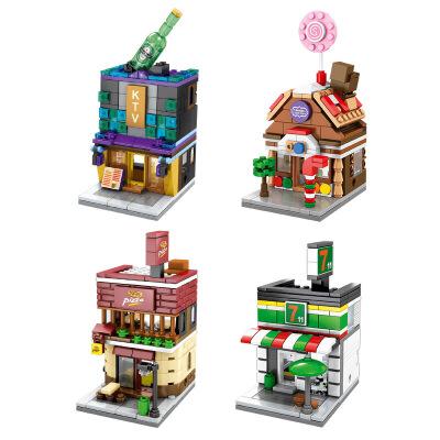 【迷你街景 兼容乐高】森宝 迷你街景城市系列拼装积木玩具 迷你街景城市系列拼装积木玩具兼容乐高