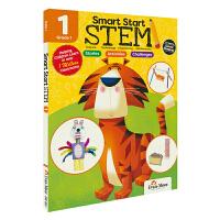 Evan-Moor Smart Start STEM G1 聪慧启蒙小学一年级跨学科练习册 美国加州教辅 儿童英文原版