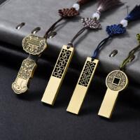 中国风青铜如意u盘16g复古典创意金属个性刻字商务礼品定制印logo