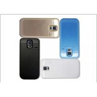 三星S5背夹式电池G9006V G9008v g 9009D 外壳充电宝手机移动电源 [黑色]4800毫安