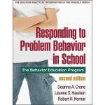 【预订】Responding to Problem Behavior in Schools: The Behavior