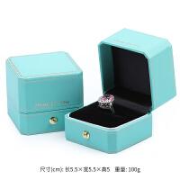 欧式八角珠宝首饰盒求婚钻戒盒婚礼首饰盒吊坠项链戒指盒子