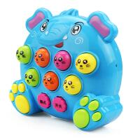 育儿宝 早教机 掌上迷你打地鼠多功能游戏机幼儿宝宝1-6岁儿歌故事机音乐打击亲子互动儿童玩具用品