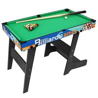 大号儿童台球桌面家用木制美式黑8室内玩具迷你桌球台斯诺克