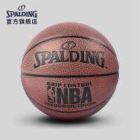 斯伯丁儿童篮球官方正品耐磨室外nba小学生幼儿园男5号非真皮牛皮