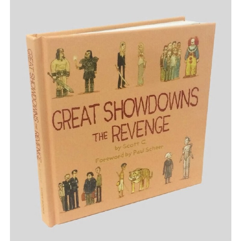 英文原版 Scott Campbell的异想电影插画:复仇 Great Showdowns: The Revenge