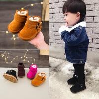冬季儿童靴子0135岁女童小童鞋婴儿棉鞋马丁靴宝宝雪地靴男童