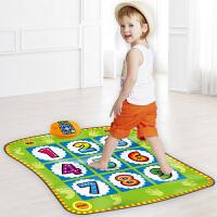 儿童早教益智游戏宝宝音乐垫跳舞毯发光运动健身玩具礼物
