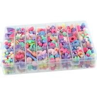 串珠手工DIY材料包儿童串珠子5-8岁女孩串项链的珠子手链饰品玩具
