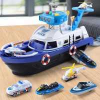 儿童玩具车船模型消防警车智力开发3-4-6岁礼物8三四五周益智男孩