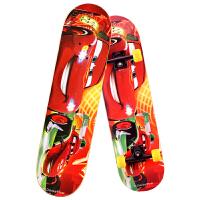 迪士尼(Disney)赛车总动员四轮滑板双翘枫木儿童青少年公路专业代步滑板车SD10002-C 当当自营