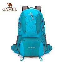 camel骆驼户外登山背包 40L男女款耐磨双肩包旅行徒步登山