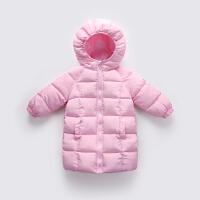 儿童中长款男童棉衣女童婴幼儿冬季宝宝童装