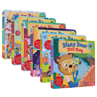Bizzy Bear 小熊很忙系列 儿童绘本童谣机关书 Bizzy Bear 英文原版绘本 纸板操作书 英语启蒙认知