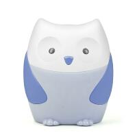 【故事 儿歌 英语】婴幼儿益智早教猫头鹰故事机 宝宝音乐灯光安抚玩具