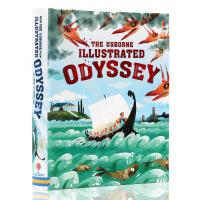英文原版绘本Illustrated Odyssey奥德赛 Usborne出品 插图故事书精装儿童英语故事书