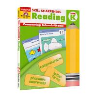 Evan-Moor Skill Sharpeners Reading Pre K 学前班英语阅读练习册 美国加州教辅